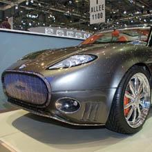 Суперлюксовый внедорожник от Spyker