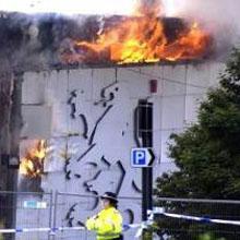 "Сгорел техно-клуб ""Gatecrasher One"" в Sheffield"