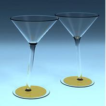 """Говорящие бокалы для """"Martini"""""""