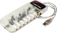 Тип: внешняя, интерфейс: USB, звуковая схема: 5.1, разрядность ЦАП / АЦП...