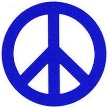 Пятидесятилетие «мирного» символа