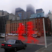 Виртуальная стена вместо светофора
