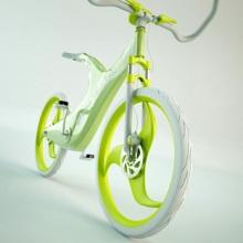 Вело-концепт в ярких тонах