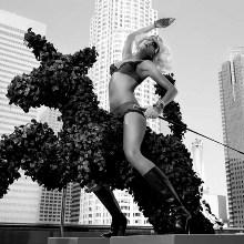 Tony Duran: черно-белый Голливуд