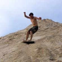 Sandboarding: оседлай дюны
