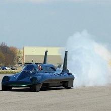 Самый быстрый в мире паровой автомобиль