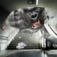 Монстры в рекламе Metro Short Film Festival