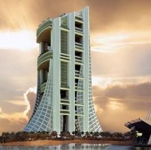 Новая высотка Дубая