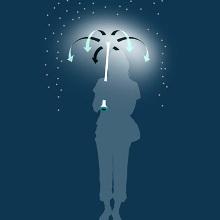 Воздушный зонт