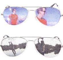 Солнечные очки с рисунком