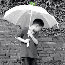 Зонт, оставляющий улыбки