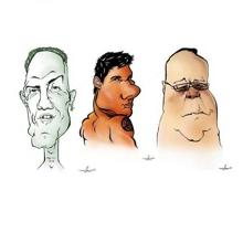 Карикатуры Дава Эндрю