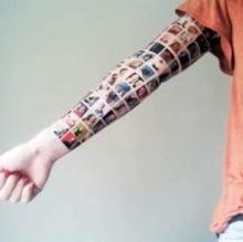 Татуировка из друзей