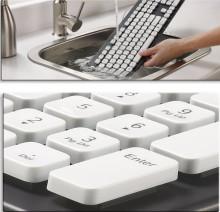 Первая водонепроницаемая клавиатура
