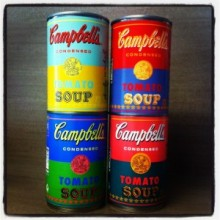 Уорхоловский Campbell's Soup вернулся