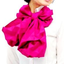 Шарф-оригами