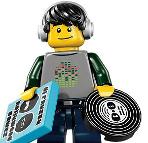 На свет появился Lego-диджей