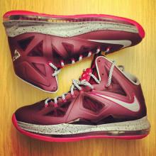 Nike Lebron X Fireberry