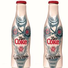 Новый образ Diet Coke от Готье