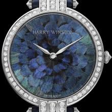 Часы из хвоста павлина