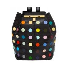 Рюкзаки с горохом и разноцветными пилюлями