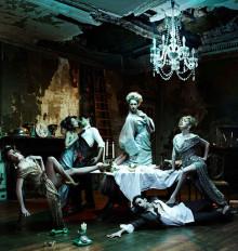 Танцоры Английского национального балета в костюмах Vivienne Westwood
