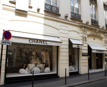 Chanel занимают больше места в пространстве