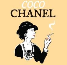 Коко Шанель в картинках