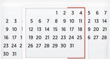 Российский дизайнер придумал вечный настенный календарь