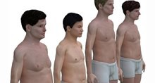 Николай Ламм создал 3D модели тел мужчин