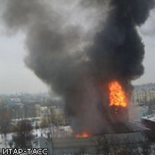 "Сгорел клуб ""Dяgilev"""