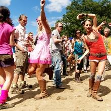 Glade Festival гонят в лес