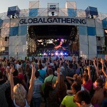 Global Gathering в разгаре