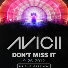 Avicii в Radio City Music Hall