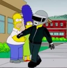 Daft Punk в новом эпизоде Симпсонов