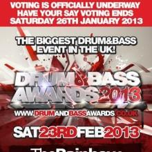 Drum & Bass Awards 2013: голосуй!
